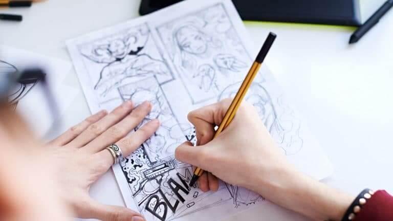 Stage de dessin sur la bande dessinée et le manga sur Monthey Valais