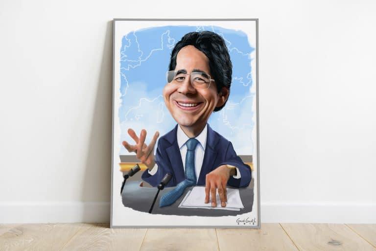illustrateur dessinateur suisse valais illustration portrait digital caricature